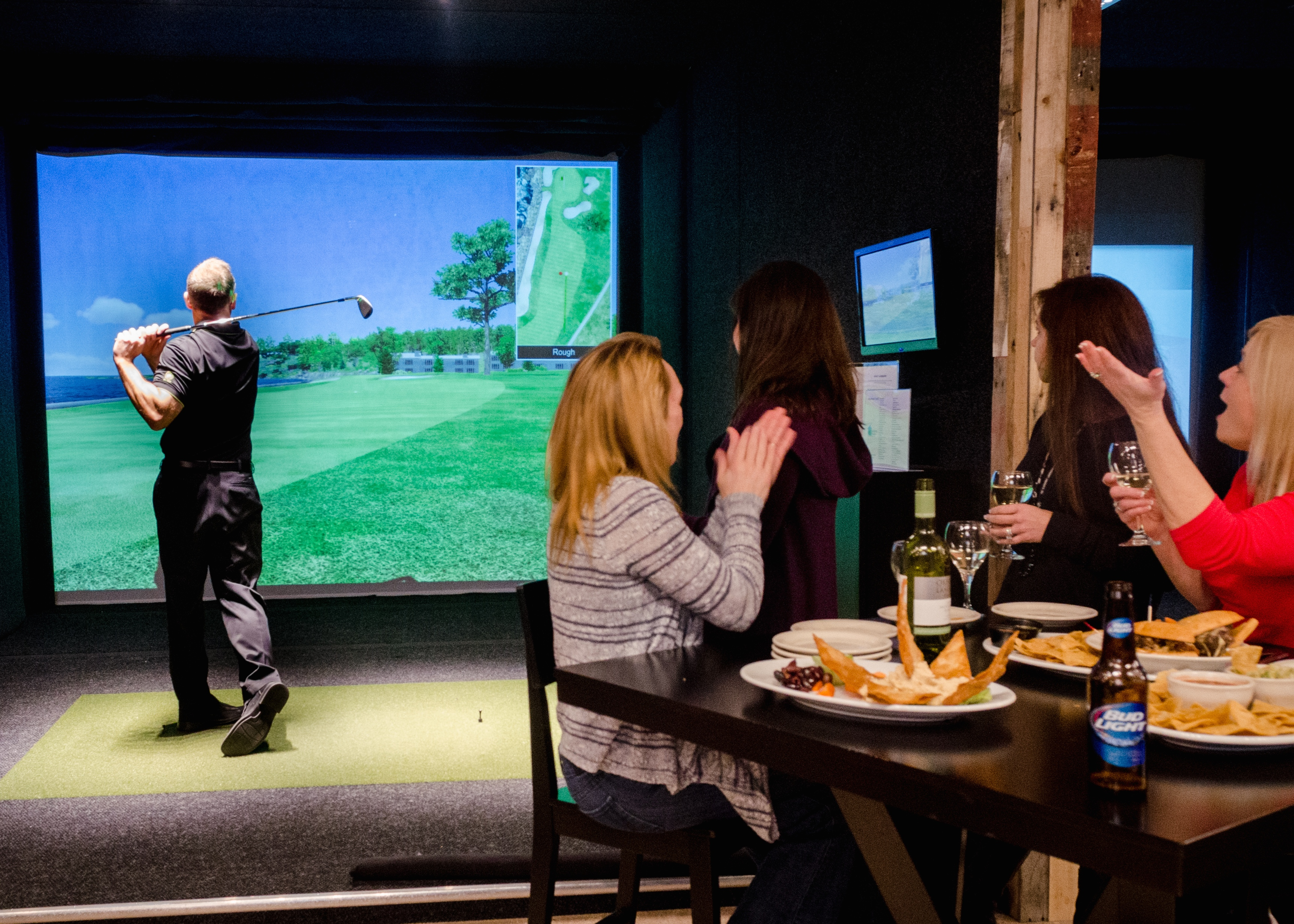 Nice Halfway House Indoor Golf Services Rates Picture