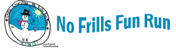 No Frills Fun Run logo