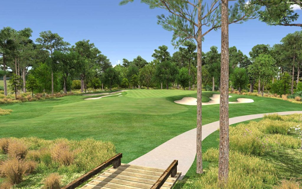 new course golf club of houston