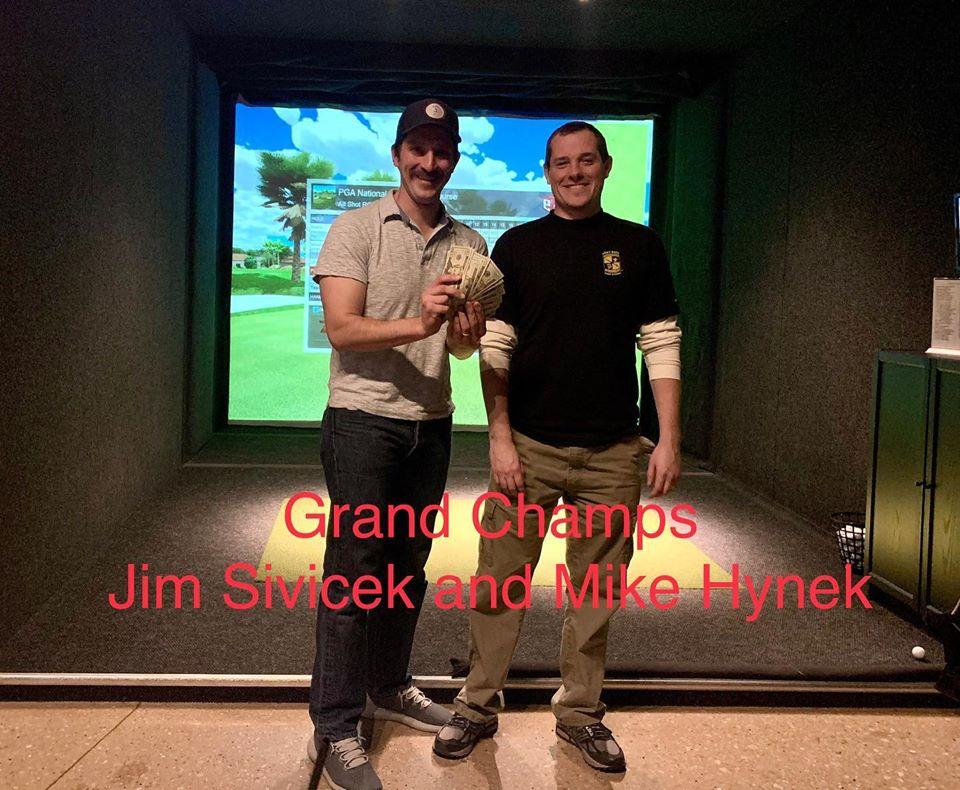 champion winners halfway house indoor golf league