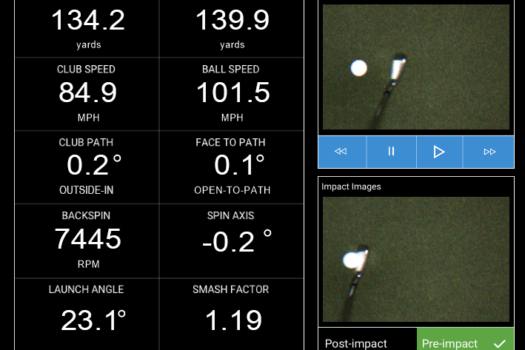 upgraded simulators following golf ION 3