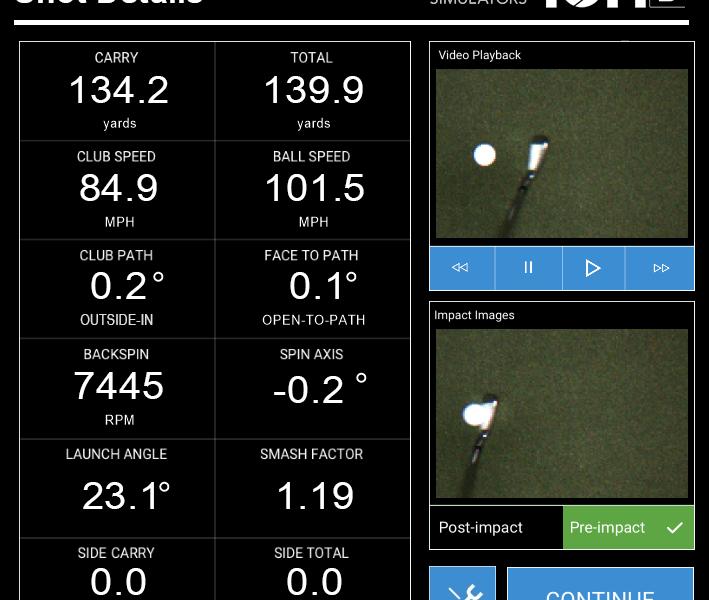 upgraded simulators following golf ION 3